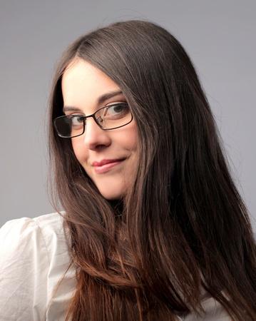 Smiling beautiful businesswoman Stock Photo - 9540704