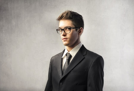 Portrait of a young handsome businessman Stock Photo - 10952177