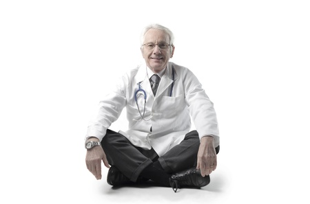 Smiling senior doctor Stock Photo - 11069045