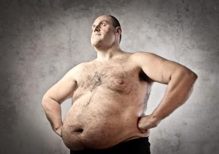 fat belly: Fat man
