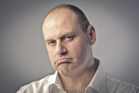 Annoyed man Stock Photo - 11489938
