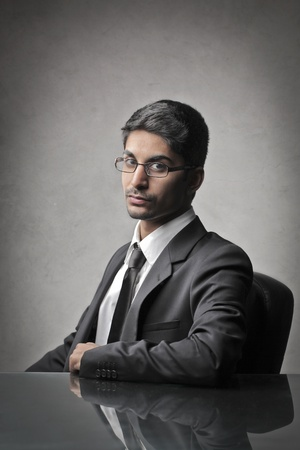 indian business man: Indian young businessman