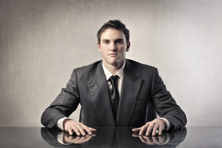 Young businessman Stock Photo - 11739469
