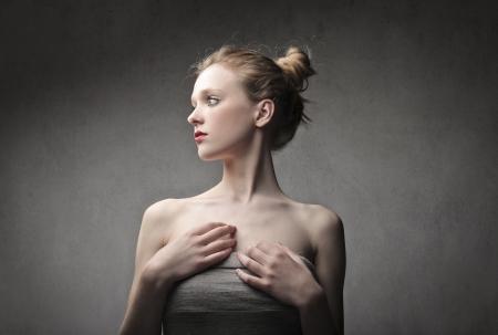 Beautiful young woman photo