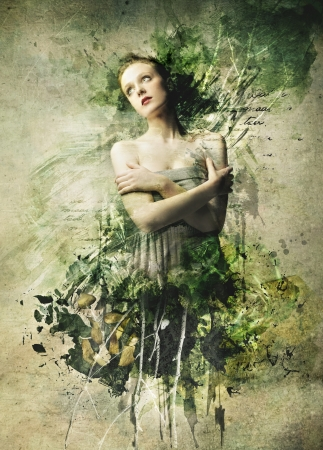 poetry: Beautiful Girl Painting