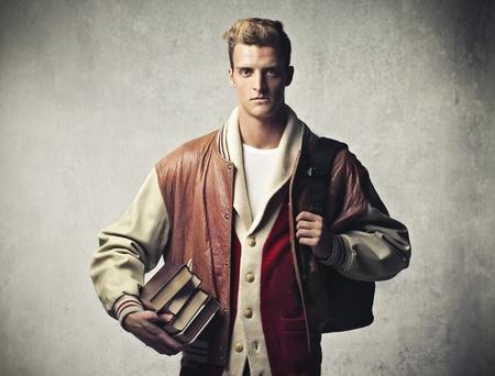 book jacket: High School Student