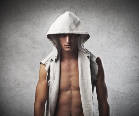 desnudo masculino: Nude Boy Foto de archivo