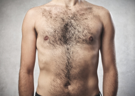 male chest: Hairy Chest