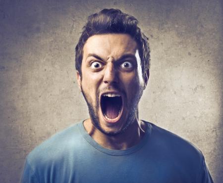 revolt: Boy screaming