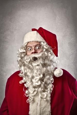 santa  claus: Surprised Santa Claus