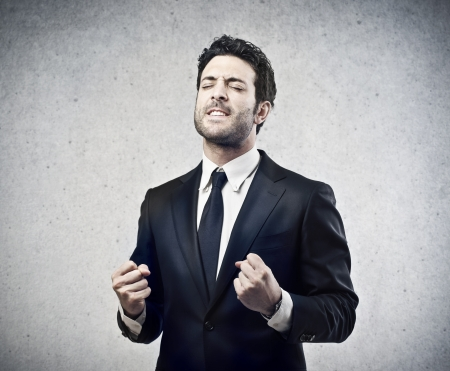 handsome businessman proud of his success Stock Photo - 17784731