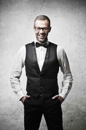 handsome elegant man Stock Photo - 17765968