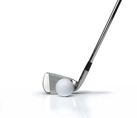 golf club: ball and golf club