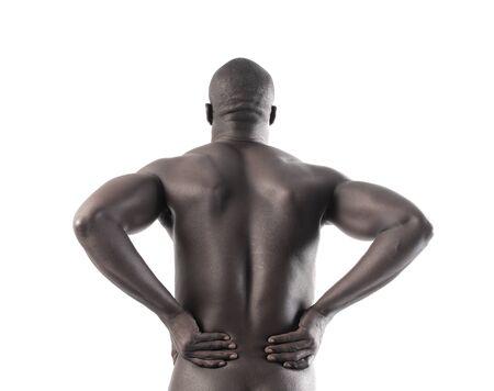 back black man photo
