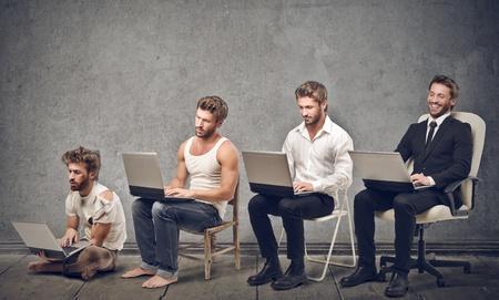 web commerce: evoluzione dell'uomo in carriera