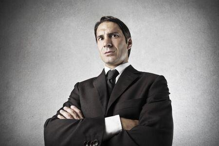 portrait of serious businessman  Stock Photo - 18548066