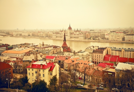 landscape of budapest photo