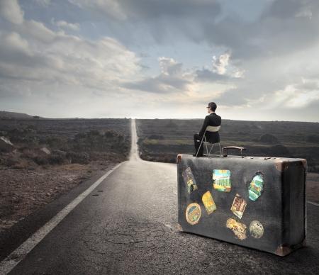 abandon: abandon suitcase