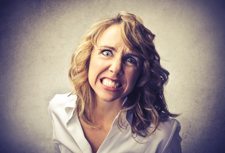 angry woman Stock Photo - 21803083