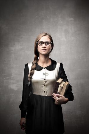 beautiful fashion student photo