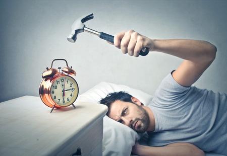 odiar el despertador