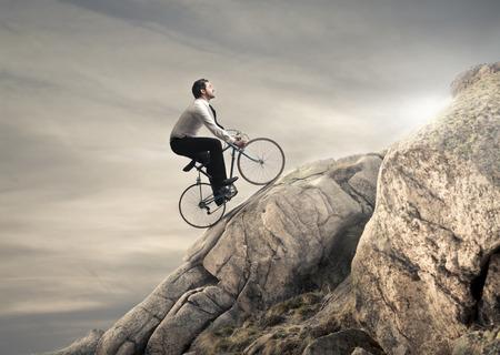катание на горных велосипедах Фото со стока