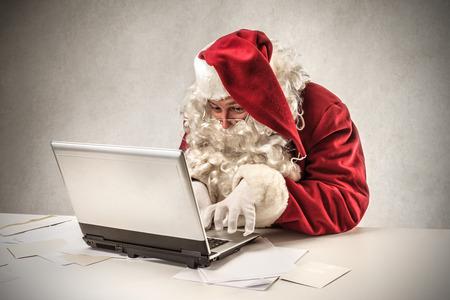 technologische santa Stockfoto