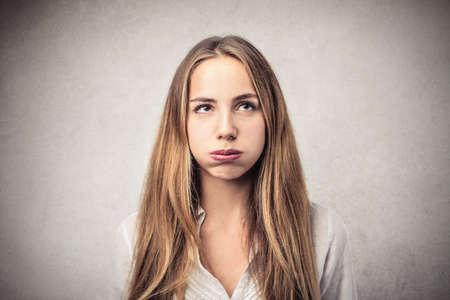 annoyed girl: annoyed girl