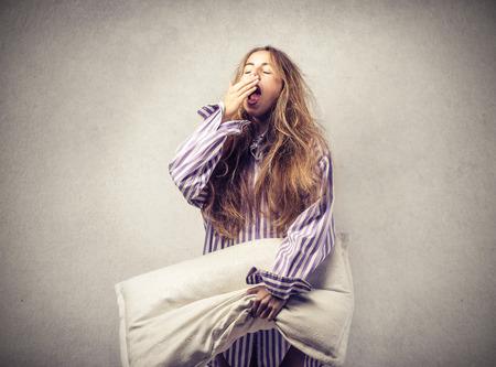 Fille endormie Banque d'images - 39855207