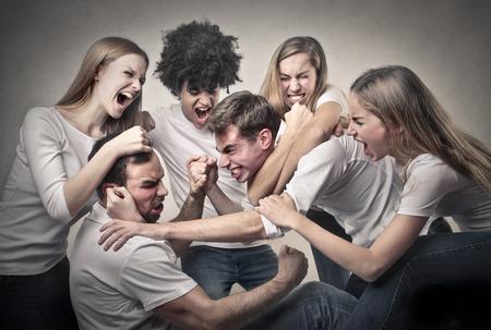 fighting guys