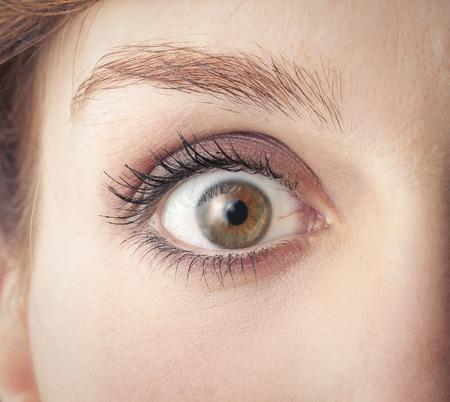 eye close up  Reklamní fotografie