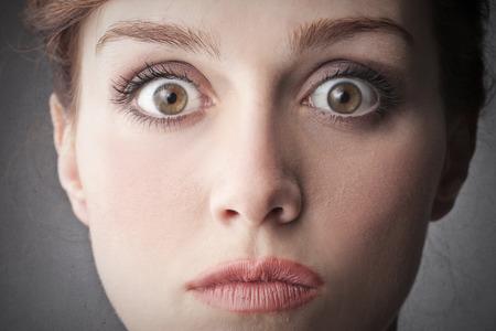 stupor: miedo de expresi�n de la cara