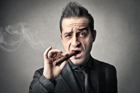 smoking man Stock fotó