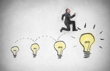 acceleration: bulbs Stock Photo