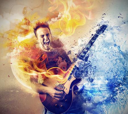 gitara: potężna muzyka