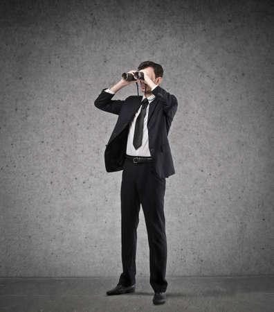 binoculars view: far goals