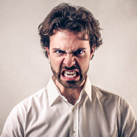 discontent: enraged