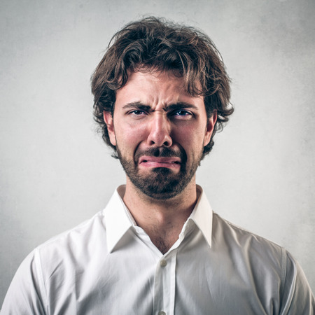 hombre: hombre triste