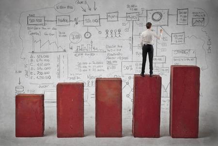 career plan: business concept