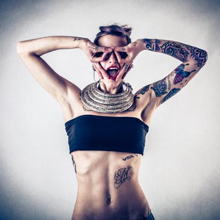 tatouage sexy: drôle d'expression
