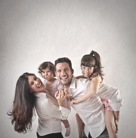 family Standard-Bild