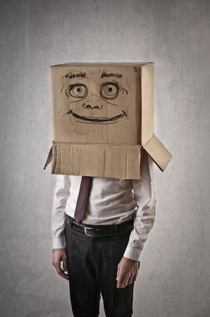 shame: nice box Stock Photo