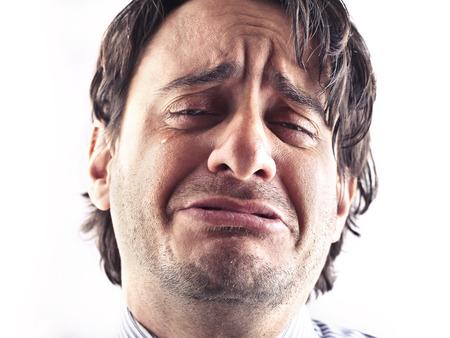 homme triste: triste homme Banque d'images