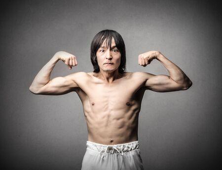 powerful man: powerful man