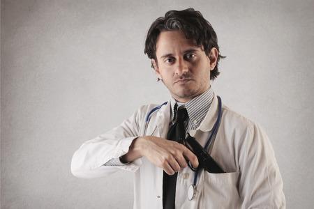dangerous doc Stock Photo