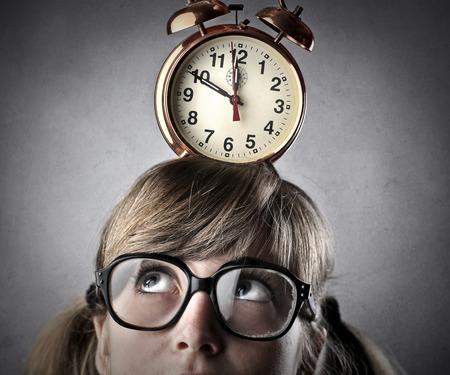 later: alarm clock
