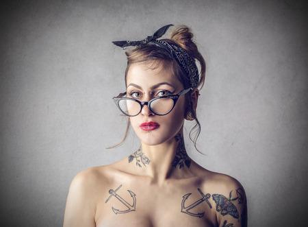 nice girl Stock Photo