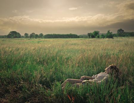 serenety: in a field