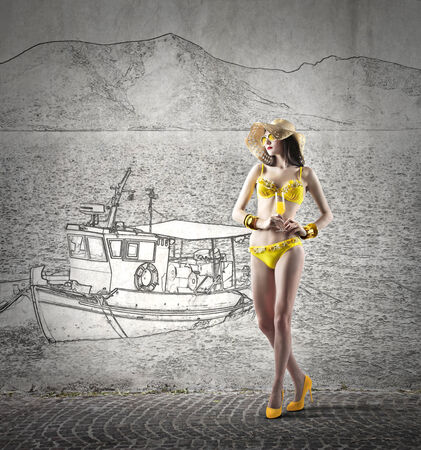 immagination: at the seaside