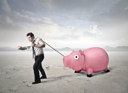 hard to find: money concept Stock Photo